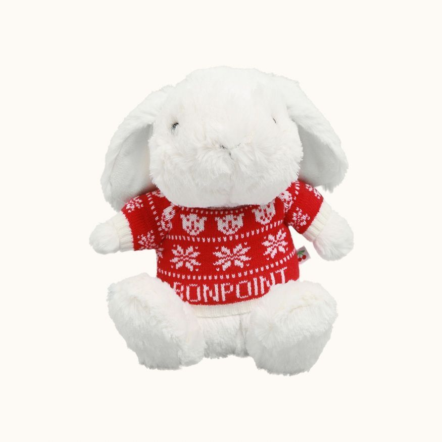 Jellap stuffed animal white