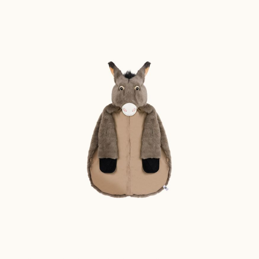 Ane donkey cape medium gray