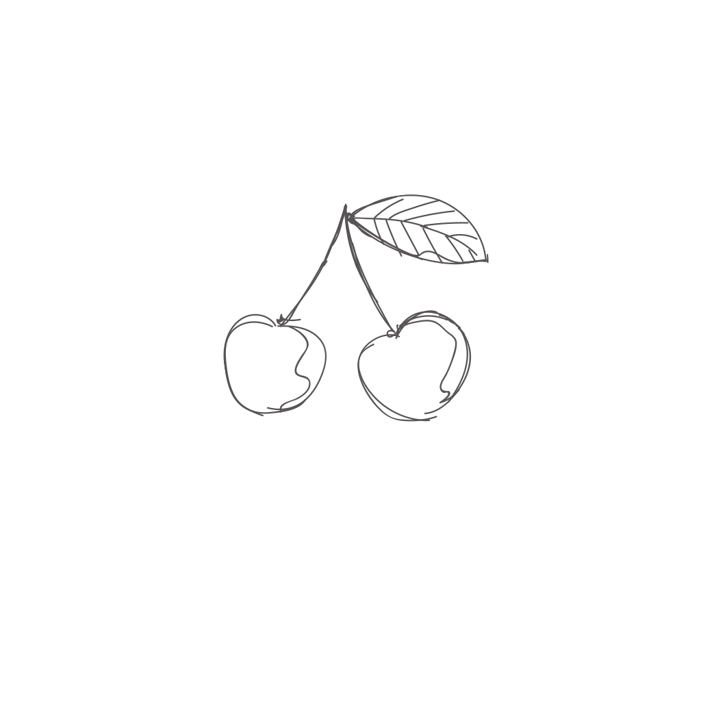 Zipped hooded sweatshirt black